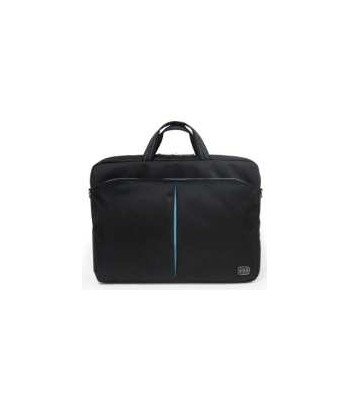 """sacoche portable 15.6"""" nylon couleur noir pour portables jusqu'à 15.6"""""""