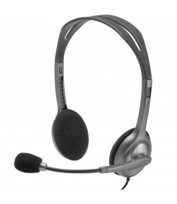 Casque-micro Logitech Stereo Headset H111(981-000593)