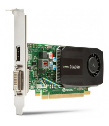 Carte Graphique Nvidia Quadro K600 1Go DDR3 DL-DVI+DP (C2J92AA)