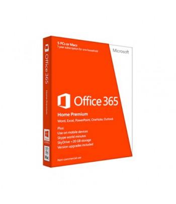 Microsoft Office 365 Famille - Français - Licence d'abonnement 1 an/5 Postes (6GQ-00681)