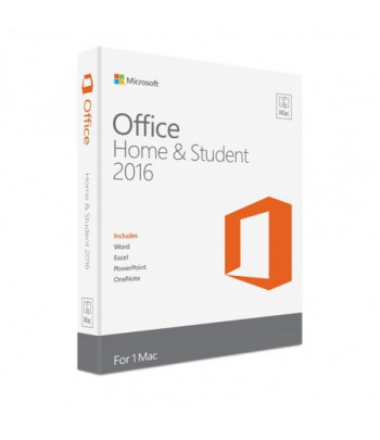 Microsoft Office Home and Student 2016 pour Mac - Français (Code d'activation)