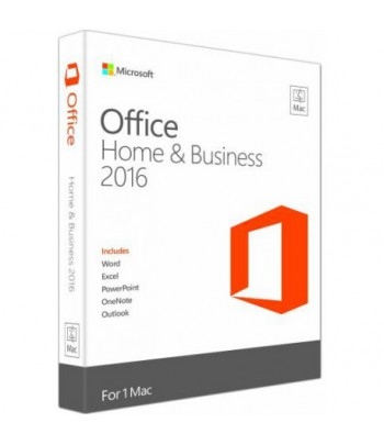 Microsoft Office Home and Business 2016 pour Mac - Français (Code d'activation)