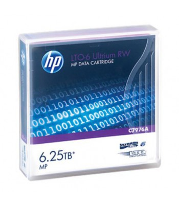 Bande de sauvegarde HP LTO-6 Ultrium 6.25TB MP RW (C7976A)