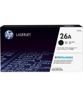 Toner LaserJet noir authentique HP 26A (CF226A)