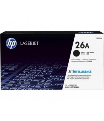 Toner LaserJet noir authentique HP 26A (CF226A)