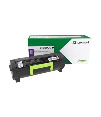 Toner Noir Lexmark MS317, MX317 - 2500 Pages (51B5000)