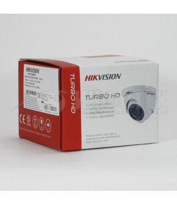 CAMERA DOME HIKVISION1080P TURBO HD IR 20M IP66 SANS
