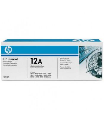 Cartouche d'encre noire HP LaserJet 12A (Q2612A)