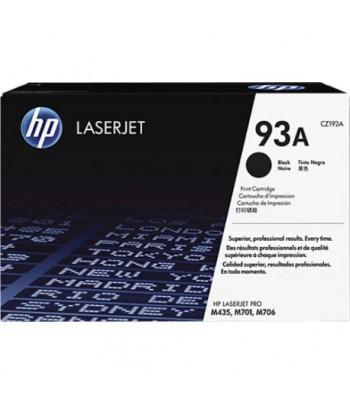 Cartouche authentique de toner noir HP LaserJet 93A (CZ192A)