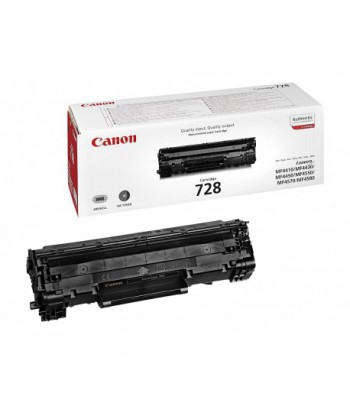 Cartouche de toner Canon Cartridge 728 Noir - 2100 Pages