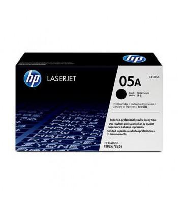 Cartouche d'impression noire HP LaserJet 05A (CE505A)