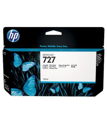 Cartouche d'encre noir photo HP 727 Designjet - 130 ml (B3P23A)