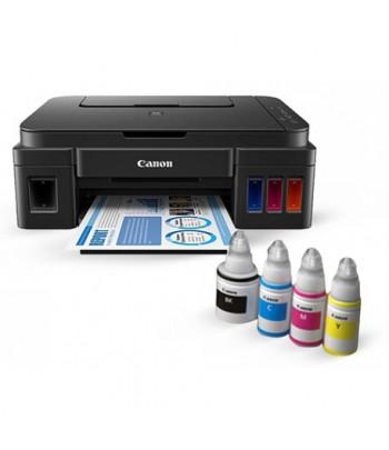 Imprimante Wi-Fi Jet d'encre Couleur 3en1 Canon PIXMA G3400 avec des réservoirs intégrés d'encre