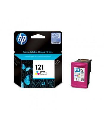 Cartouche d'encre trois couleurs HP 121 (CC643HE)