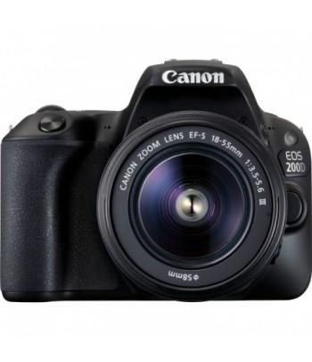 Appareil photo Compact Canon EOS 200D (2250C011AA)