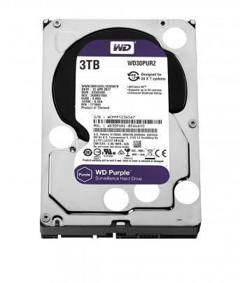 DISQUE DUR 3TB WD PURPEL 3.5/64 MB, SATA3