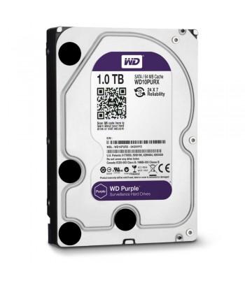 DISQUE DUR 1TB WD PURPEL 3.5/64 MB, SATA3