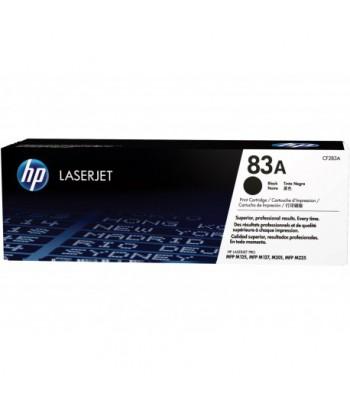 toner LaserJet HP 83A, noir, 1500 pages (CF283A)