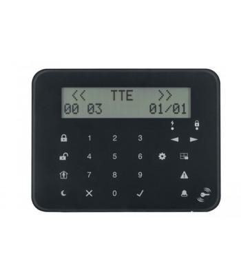 Clavier avec écran LCD et touches tactiles
